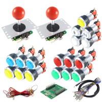 Kit Sanwa & LED Buttons with USB encoder