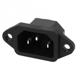 C14 power inlet with fuse