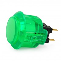 Green OBSC-24 Snap In button