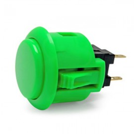 Green OBSF-24 Snap In button