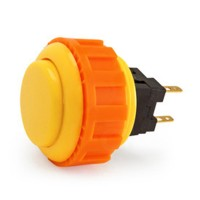 Yellow OBSN-24 Screw In button
