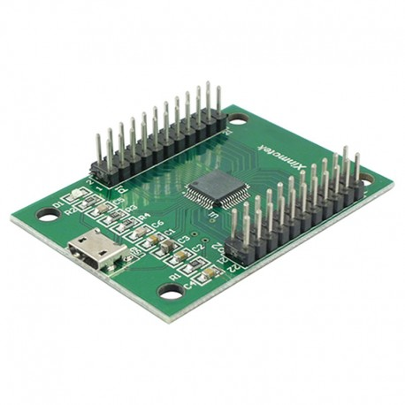 Xinmotek 2 Players USB encoder - 6.3mm - XM-10