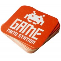 Taito Game Center Coasters x10