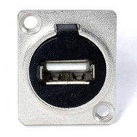 USB 2.0 Connector - Silver
