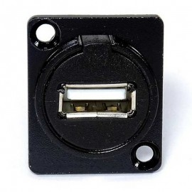 USB 2.0 Connector - Black