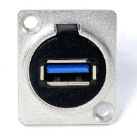 USB 3.0 Connector - Silver