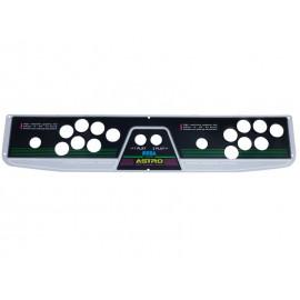 Sega Astro City 2 Players 7 Buttons Panel