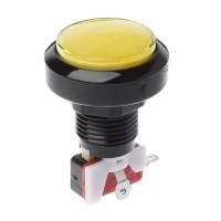 46 mm Yellow Arcade Button