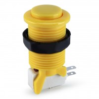 Suzo Happ Convex Competition Pushbutton - Yellow