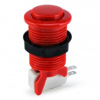 Suzo Happ Convex Competition Pushbutton - Red