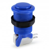 Suzo Happ Convex Competition Pushbutton - Blue