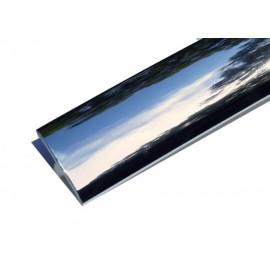 T-Molding 18mm - chrome 1m