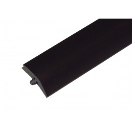 T-Molding 18mm - black 1m