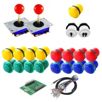 Kit Joysticks & Basic Buttons - With USB Encoder