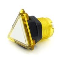 Triangular Translucent Yellow  Button