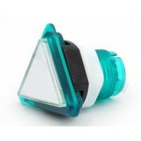 Triangular Translucent Green  Button