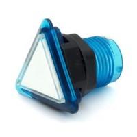 Triangular Translucent Blue  Button