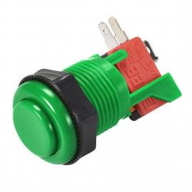Green Short 28mm Push Button