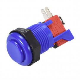 Blue Short 28mm Push Button