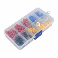 Ring Crimped Terminals Boxed Set - 102 Pieces