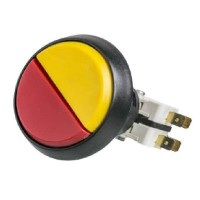 2 in 1 Screw-in Push Button