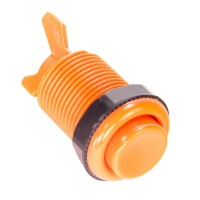 Classic Orange 28 mm push button