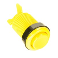 Classic Yellow 28 mm push button