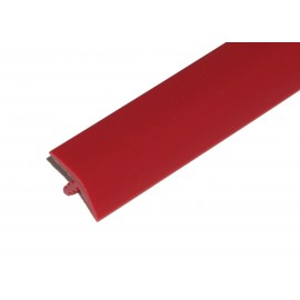 """T-Molding 3/4"""" - red 1m"""