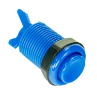 Classic Blue 28 mm push button