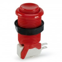 Suzo Happ Concave Pushbutton - Red