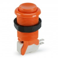 Suzo Happ Concave Pushbutton - Orange