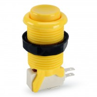 Suzo Happ Concave Pushbutton - Yellow