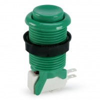 Suzo Happ Concave Pushbutton - Green