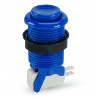 Suzo Happ Concave Pushbutton - Blue