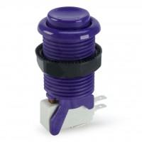Suzo Happ Concave Pushbutton - Purple