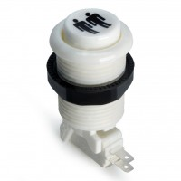 Suzo Happ Concave Pushbutton - White - Player 2