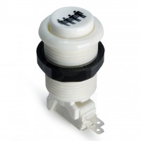Suzo Happ Concave Pushbutton - White - Player 4