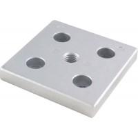 Adjustable Feet's Aluminium Mounting Plates 80x80 mm