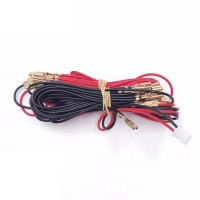 12v LED Harness with 2 pin connector for Zero Delay - 6.3mm
