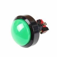 60 mm Convex Green Arcade Button