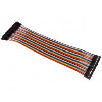 40 câbles Dupont femelle - femelle 20cm